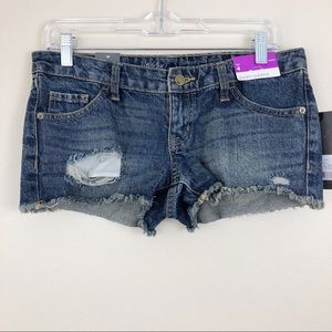 Mossimo Distressed Jean Shorts